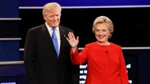 Clinton, Trump clash over taxes, race and terror in 1st presidential debate