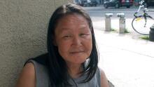 Annie Pootoogook works Ottawa street July 10 2013