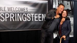 APTOPIX Springsteen Book Tour