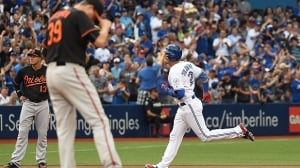 Blue Jays host Orioles looking to maintain AL wild card lead