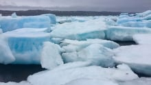multi-year ice Frobisher Bay