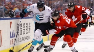 Europe keeps it close in Game 1 loss to Canada