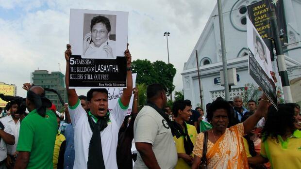 Sri Lanka Slain Editor