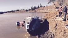 Aklavik boat accident Vince Sharpe