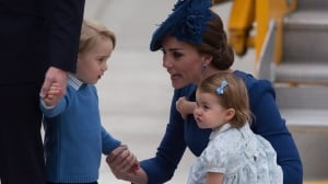 Prince George, Princess Charlotte make secret visit to Victoria petting zoo