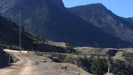 Washout closes Highway 99 north of Lillooet