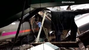 New Jersey train crash eyewitness aftermath