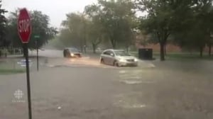 RAW: Flooding in Tecumseh, Ont.