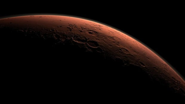 Mars Daybreak at Gale Crater