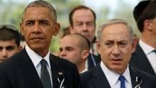 ISRAEL PEOPLE SHIMON PERES FUNERAL-Obama-Netanyahu