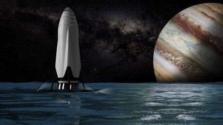 SpaceX Sci Fi
