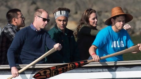 Prince William and Kate arrive in Haida Gwaii for final full day in B.C.