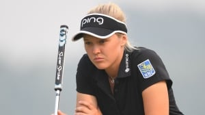 Henderson falls to 2nd at LPGA Tour event in China