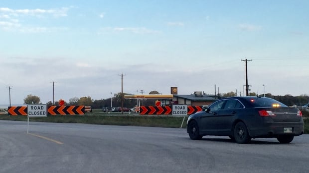Pedestrian dead after being hit by semi on Manitoba highway