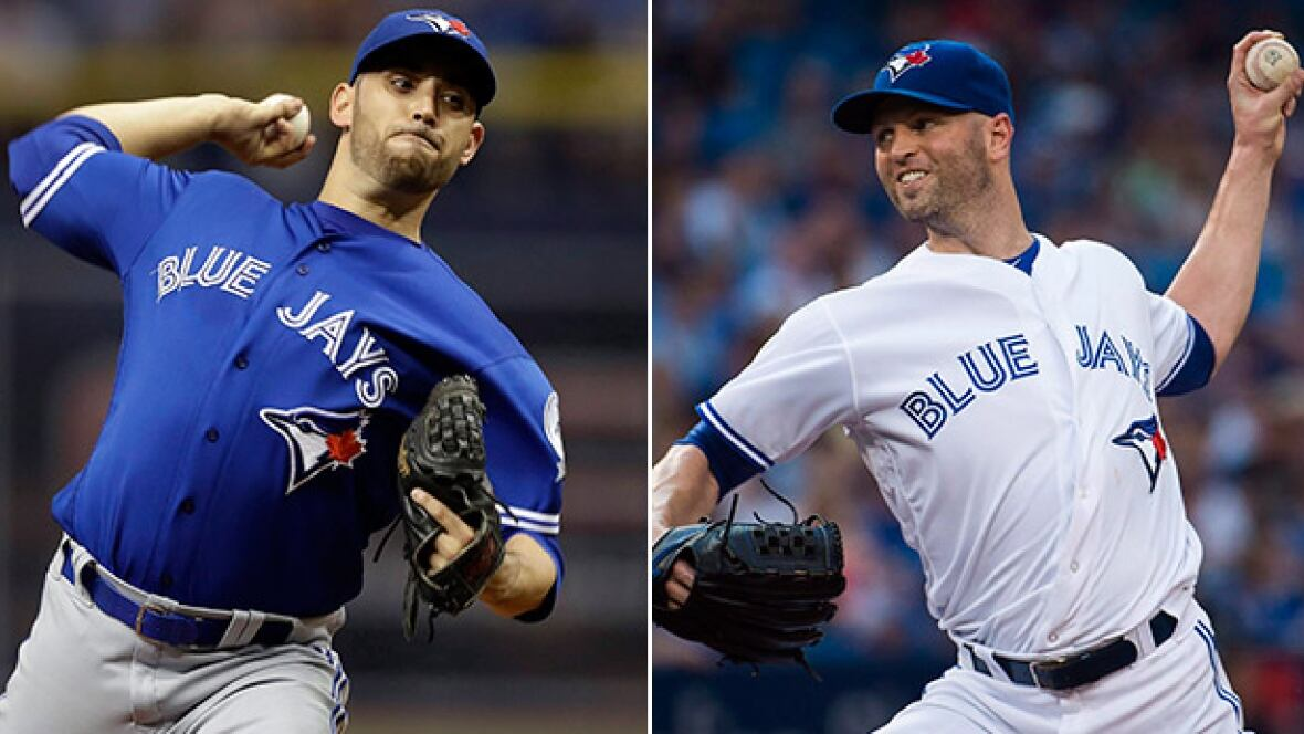 Jays to start Marco Estrada, J.A. Happ in Games 1, 2 of ALDS - CBC Sports - Baseball - MLB
