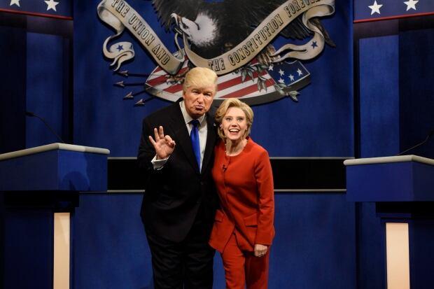 'Saturday Night Live' Takes Aim at Trump's Hot Mic Scandal