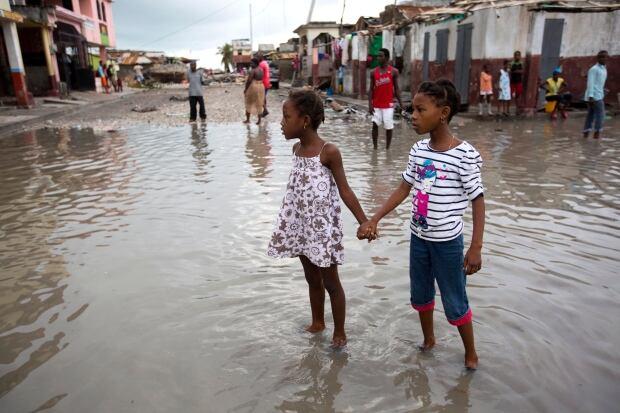 Image result for Hurricane Matthew in Haiti