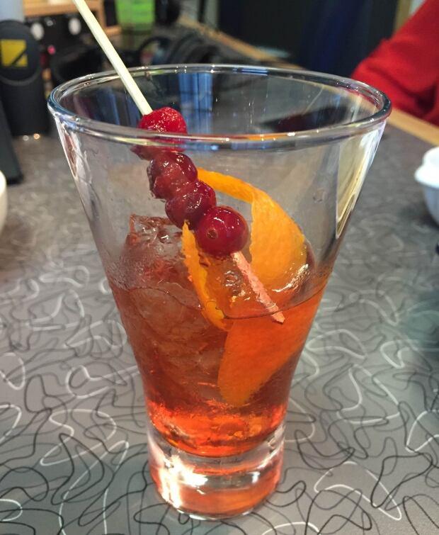 Cranberry Negroni. (CBC)