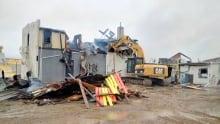 Debris of Clarendon Hotel