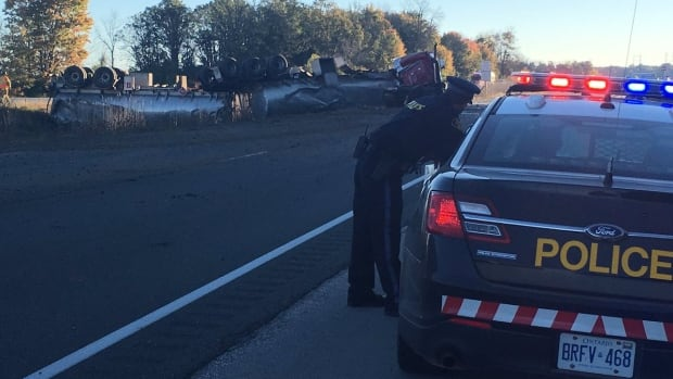 Driver of fuel truck dead after fatal crash on Highway 402