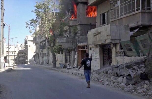 Aleppo, Syria -- Oct. 5, 2016