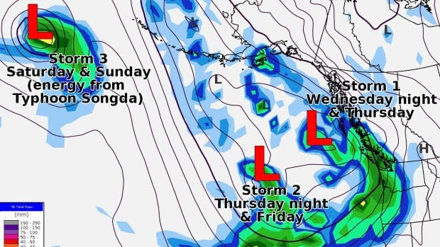 Power outages expected with storm warning in BC