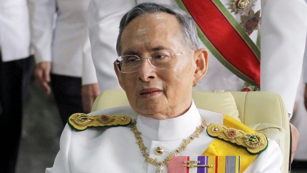Thailand S King Bhumibol World S Longest Reigning Monarch Dies World Cbc News