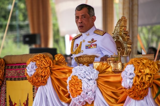 Image result for Prince Vajiralongkorn