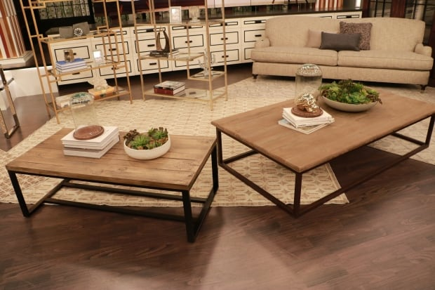 How to get the look for less home cbc for Coffee tables homesense