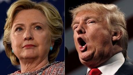 Trump Clinton composite for debate 3