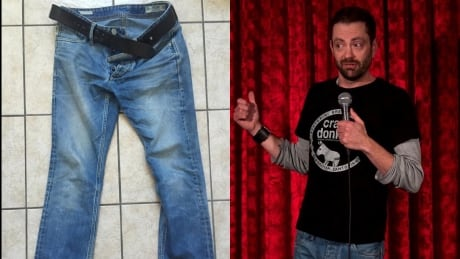 Attackers tried to steal Halifax comic Ian Black's jeans