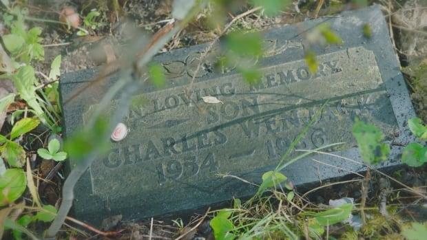 Charlie Wenjack's grave