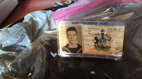 Navy ID card