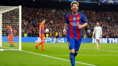 Messi Soccer Champions League