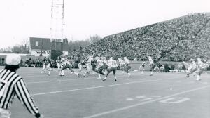 Saskatchewan Roughrider champions salute the stadium