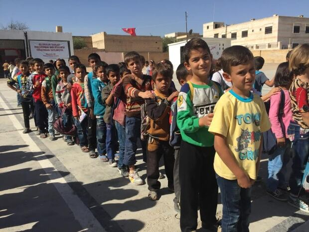 Syrian school boys