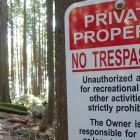 Mount Seymour trail signs