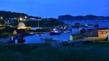 A blue evening in Twillingate