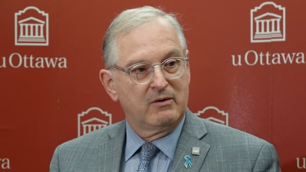 Jacques Frémont, president of the University of Ottawa, says the university's student federation is investigating the pub crawl.