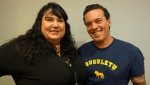 Joseph Boyden and Candy Palmater