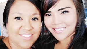 Melika Popp and Kimberly Switzer-Ashong
