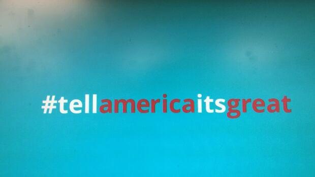 #tellamericaitsgreat