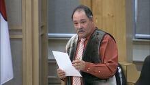 Tununiq MLA Joe Enook Nunavut Oct. 19, 2016