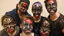 Greenlandic mask dancing
