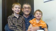 Alfred Wagner and grandsons