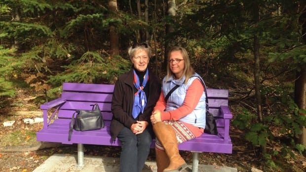 Barb's Benches pay tribute to victim of domestic violence ...