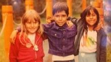 Jaaji with cousins Maina and Cheryl