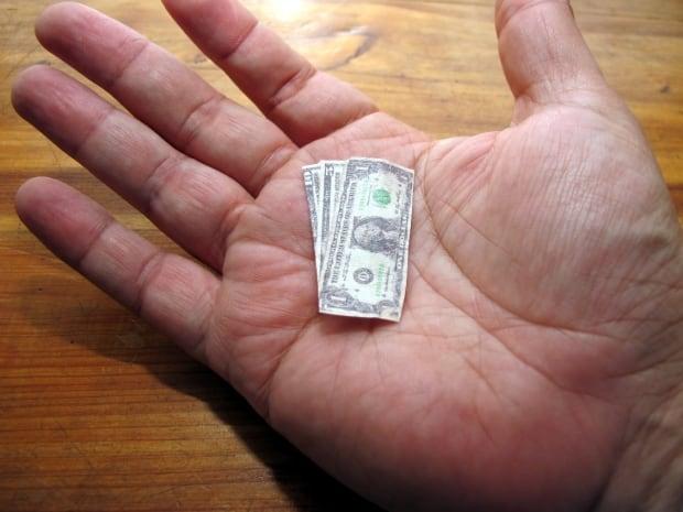 Shrinking money us