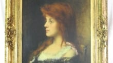 """Harlamoff's """"Red Hair Beauty"""" on auction"""