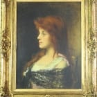 "Harlamoff's ""Red Hair Beauty"" on auction"
